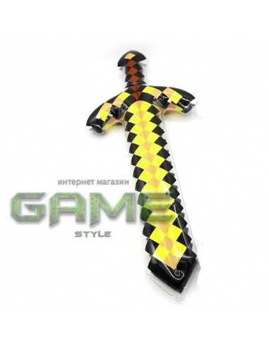 Большой надувной Золотой меч Minecraft