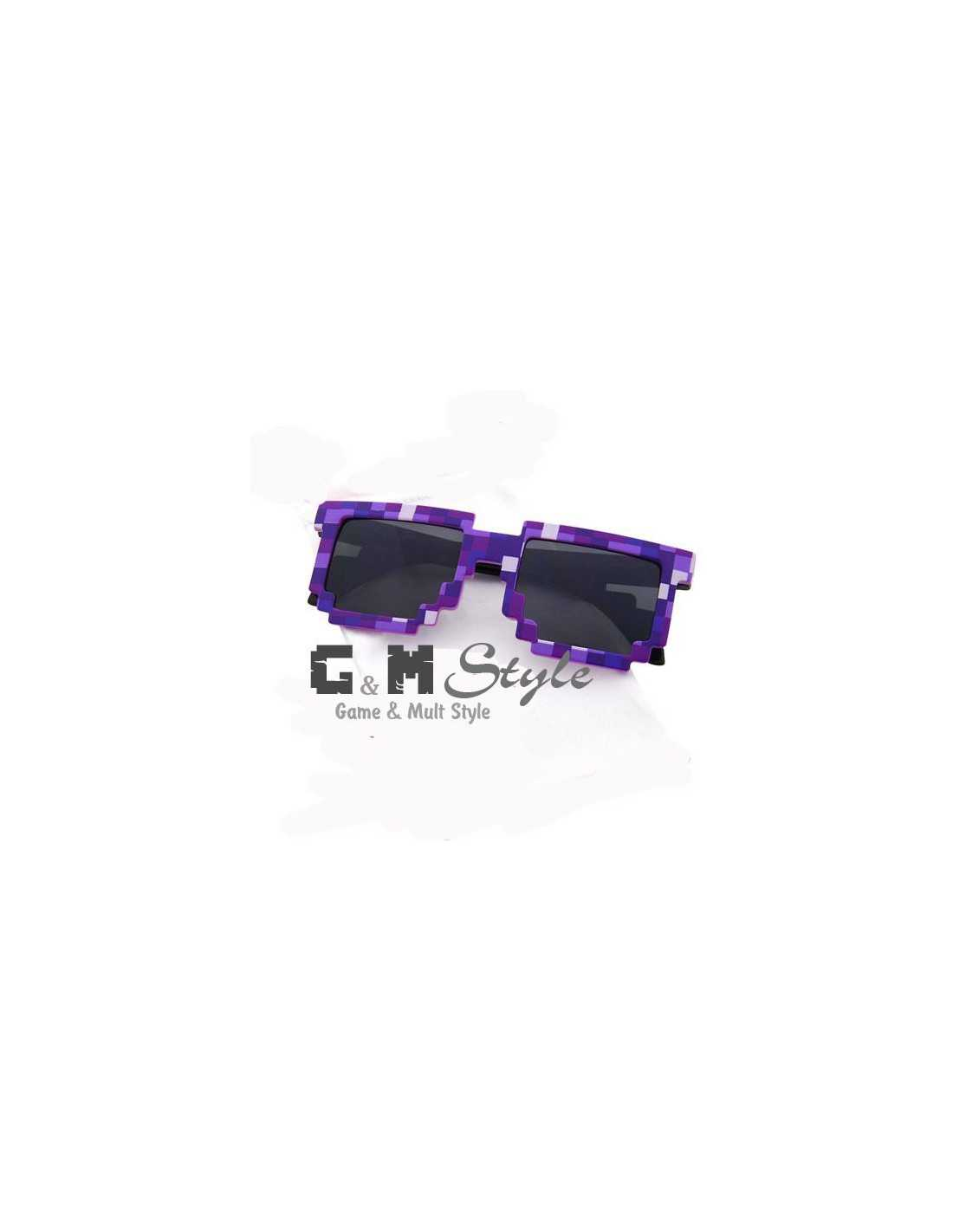 Солнцезащитные очки MineCraft зеленые