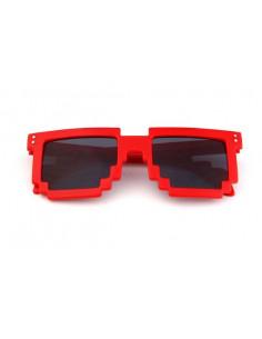 Детские солнцезащитные очки Майнкрафт (Minecraft) красные