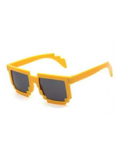 Детские солнцезащитные очки Майнкрафт (Minecraft) желтые