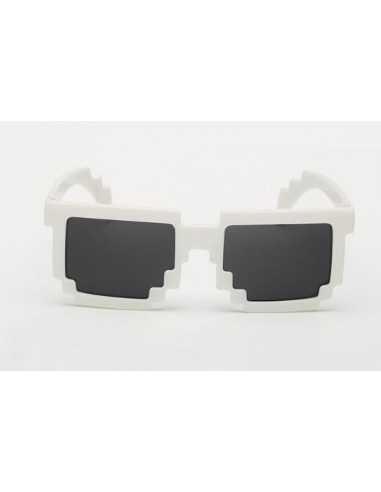 Детские солнцезащитные очки Майнкрафт (Minecraft) белые