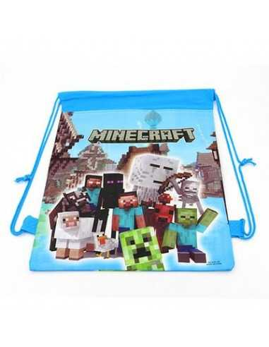 Рюкзак школьный Minecraft Герои для сменной обуви и одежды