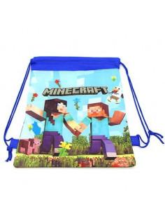 Рюкзак легкий Mineсraft для сменной обуви и одежды