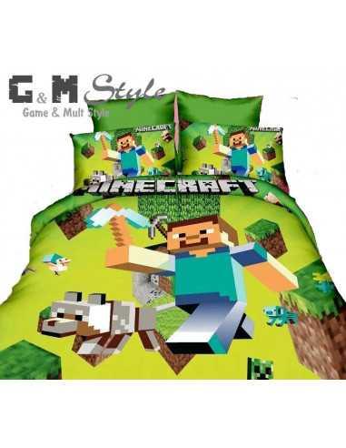 Детское постельное белье Minecraft (комплект) 200