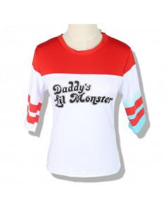 Детская футболка топ Харли Квинн