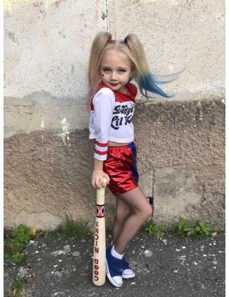 Десткий костюм Харли Квинн на девочку наша клиентка
