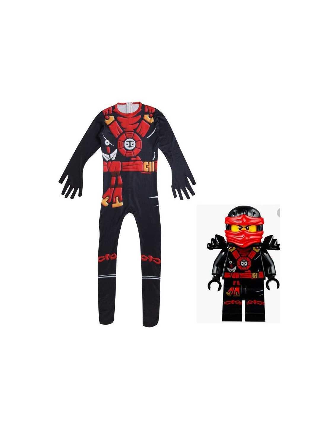 Детский костюм Lego Ninjago Коула (чёрный) комбинезон