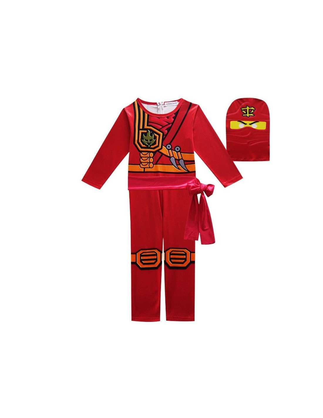 Костюм Lego Ninjago Кая (красный) детский