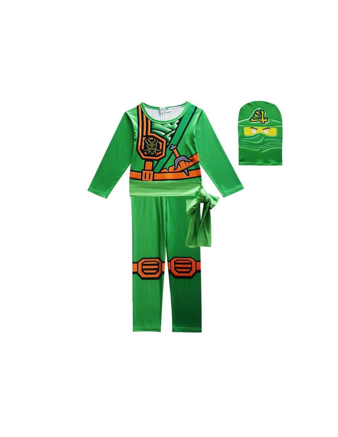 Костюм Lego Ninjago ЛЛойда (зелёный) детский