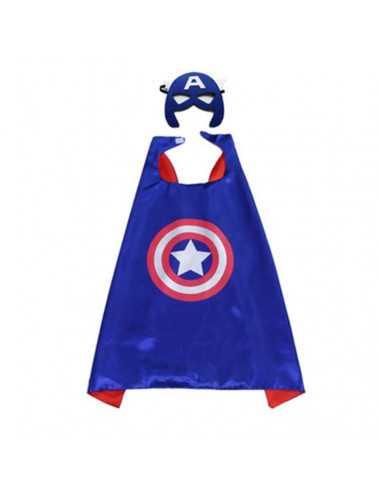 Новогодний костюм Капитан Америка (халатик)