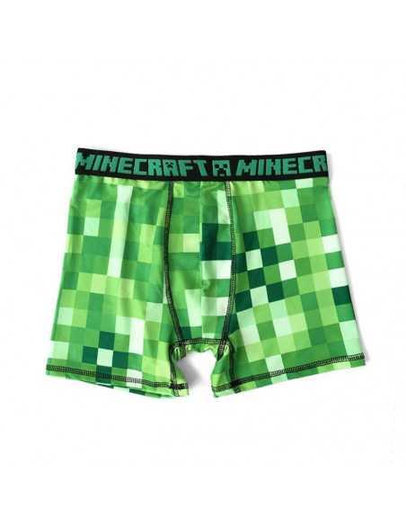 Трусы боксеры для мальчиков Minecraft Крипер