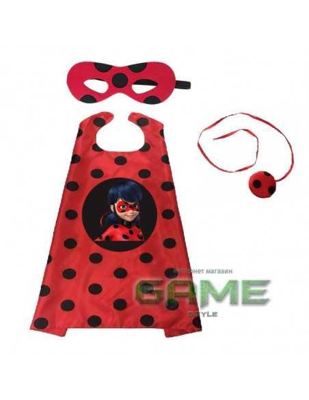 Новогодний костюм Miraculous Ladybug с маской