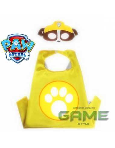 Новогодний костюм Paw Patrol Крепыш с маской