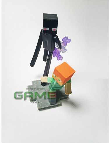 Фигурка конструктор Minecraft Алекс спасается от Эндэрмэна