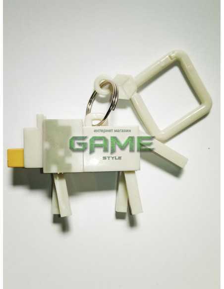 Фигурка брелок Волк Minecraft