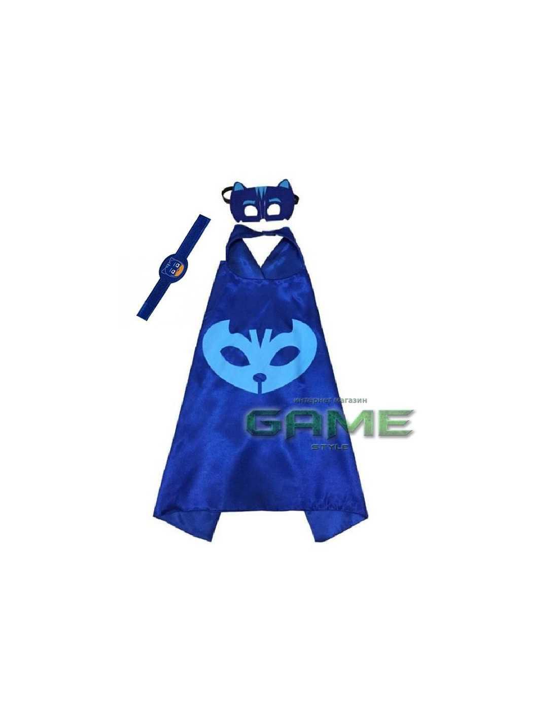 Костюм PJ Masks Кэтбой с маской и браслетом