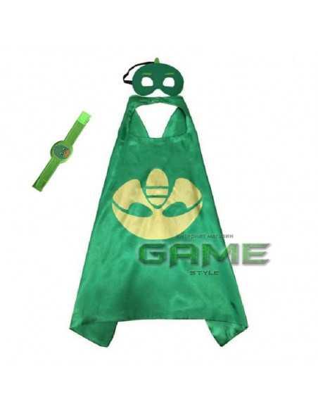 Костюм PJ Masks Гекко с маской и браслетом