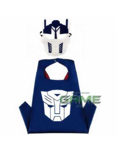 Новогодний костюм Transformers Optimus Prime с маской