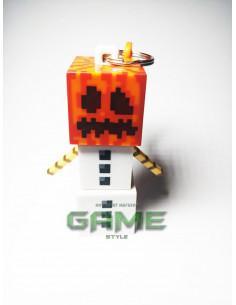 Фигурка брелок Снежный Голем Minecraft