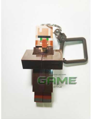 Фигурка брелок Житель Minecraft