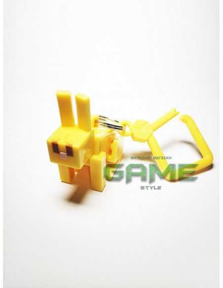 Фигурка брелок Кролик Minecraft