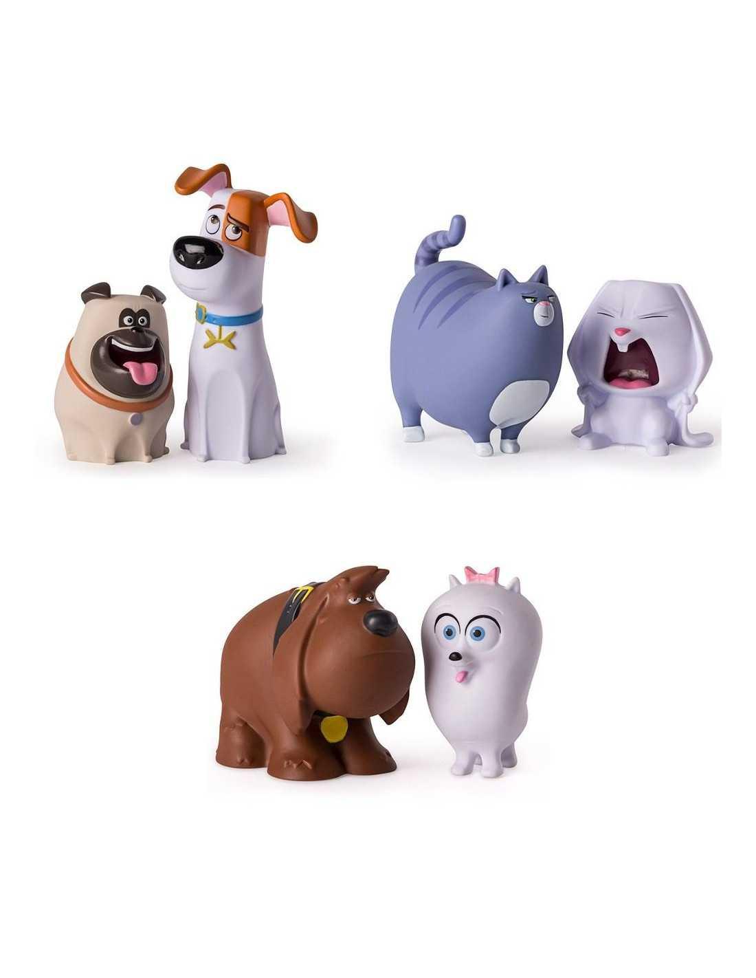 Фигурки героев Секреты домашних животных Большие