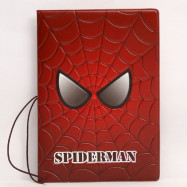 Обложка на паспорт Spider-Man красная