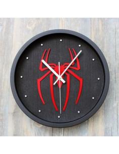 Настенные часы Spider-Man чёрные