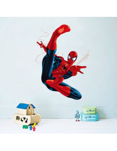 "Интерьерная наклейка Spider-Man ""Удар"""