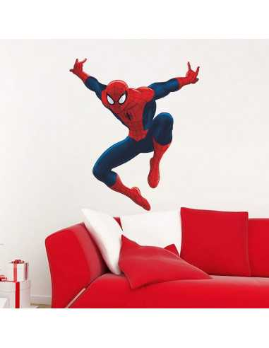 """Интерьерная наклейка Spider-Man """"В прыжке"""""""