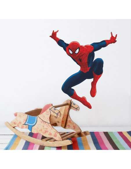 """Интерьерная наклейка Spider-Man \\""""В прыжке\\"""""""