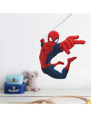 "Интерьерная наклейка Spider-Man ""Атака"" маленькая"