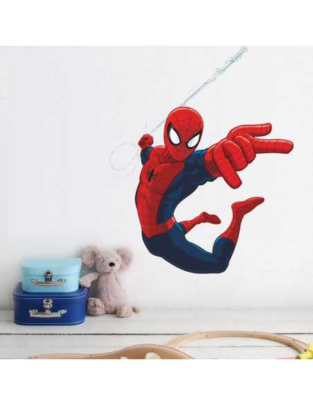 "Интерьерная наклейка Spider-Man \\""Атака\\"" маленькая"
