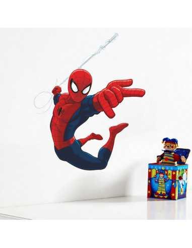 "Интерьерная наклейка Spider-Man ""Атака"""
