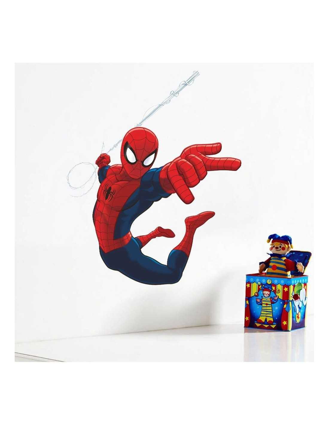 "Интерьерная наклейка Spider-Man \\""Атака\\"""