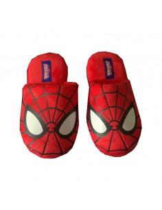 Домашние тапочки Spider-Man красные