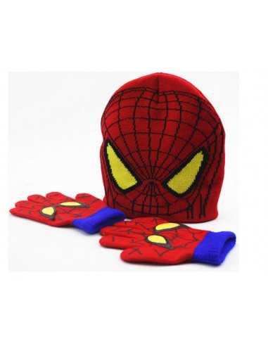 Детский набор шапка + перчатки Spider-Man