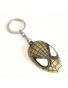"Брелок ""Маска"" Spider-Man бронза"