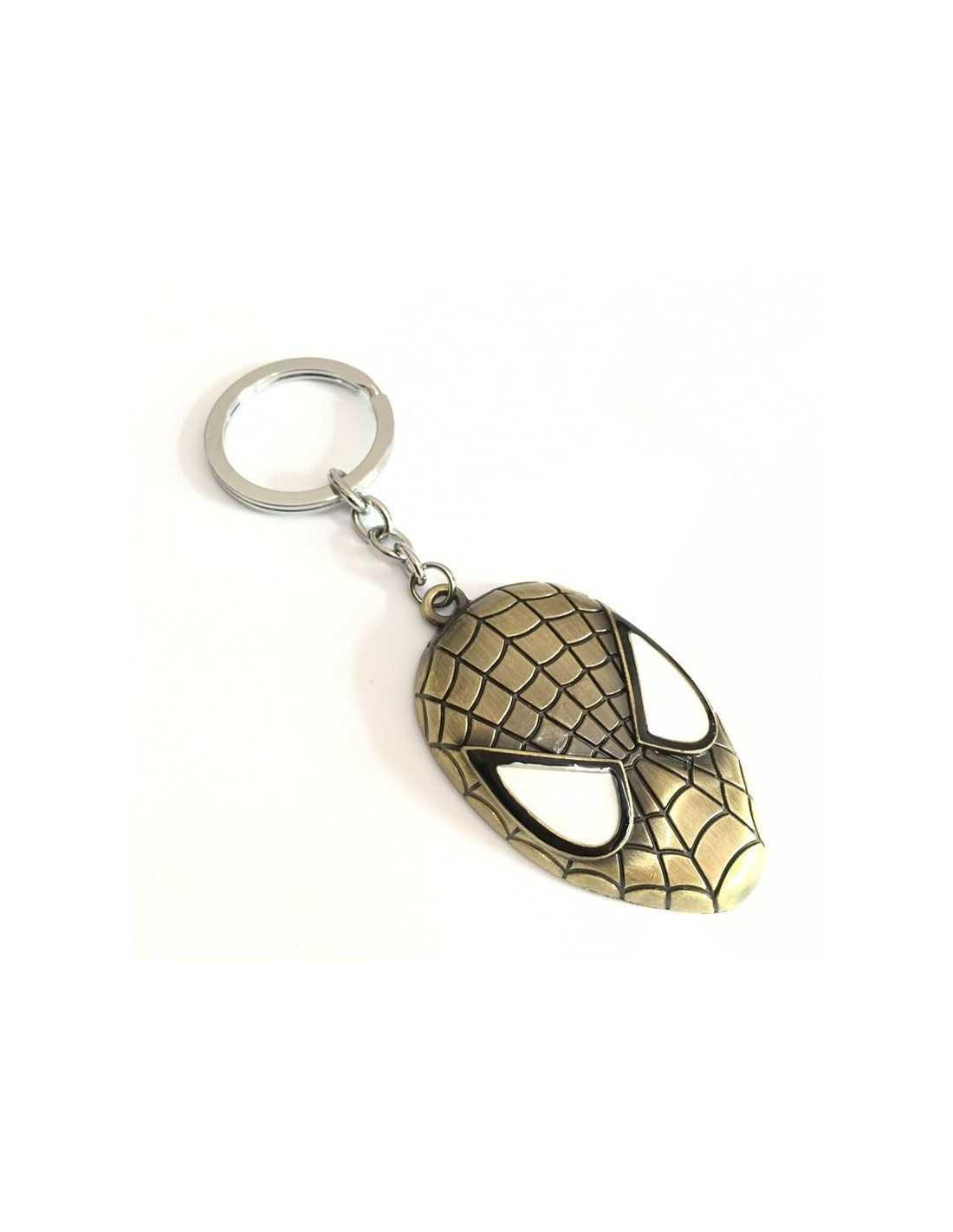 "Брелок \\""Маска\\"" Spider-Man бронза"