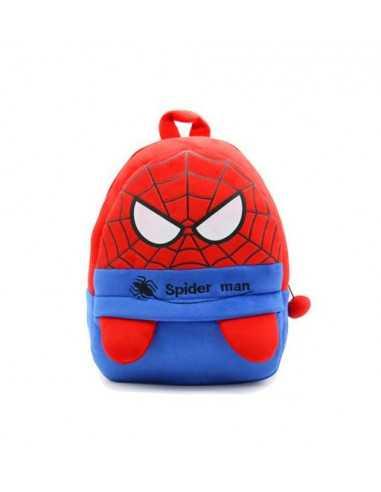 Детский рюкзачёк Spider-Man красный с синим