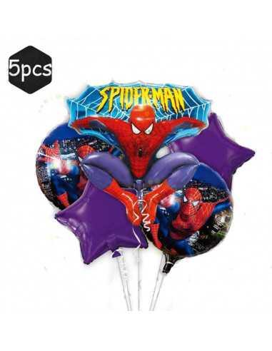Набор фольгированных шариков Spider-Man