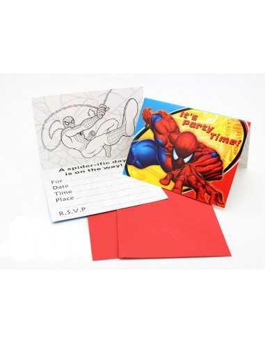 Пригласительная открытка Spider-Man