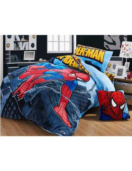 Комплект детского постельного белья Spider-Man на молнии