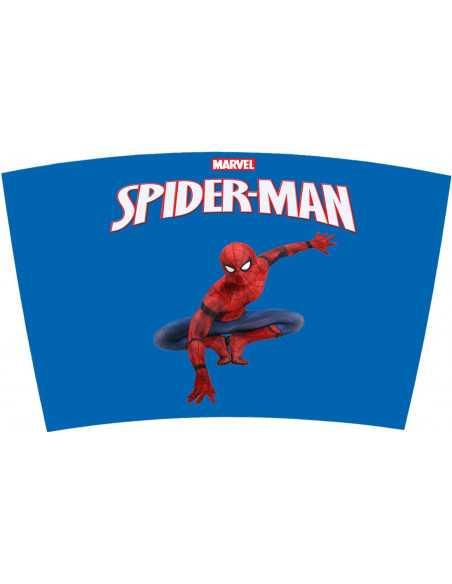 Термокружка для напитков Marvel Spider-Man Blue 450 мл нержавеюшая сталь