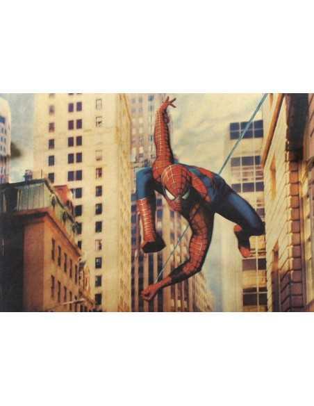 Постер Spider-Man на крафовой бумаге