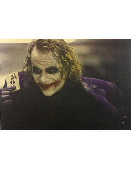 Постер Joker на крафовой бумаге