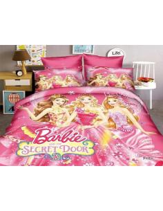 """Комплект детского постельного белья """"Барби и потайная дверь"""" 150"""