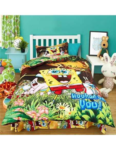 Комплект детского постельного белья Губка Боб