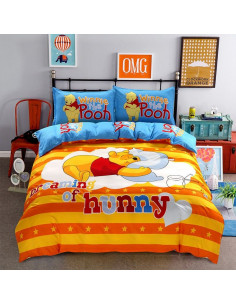 """Детское постельное белье """"Винни Пух и медовые сны"""" большое"""