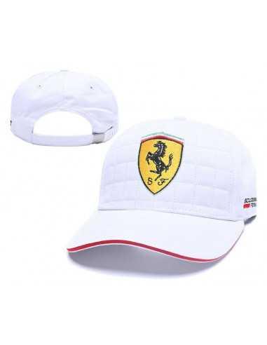 """Кепка бейсболка """"White Ferrari"""""""